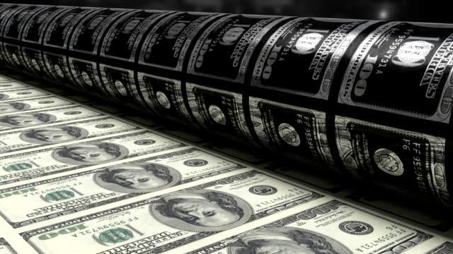 Printing $100 Bills video
