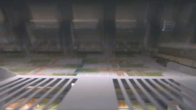 Printing machine. video