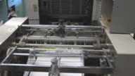 Printing Press in Action with Audio Track video