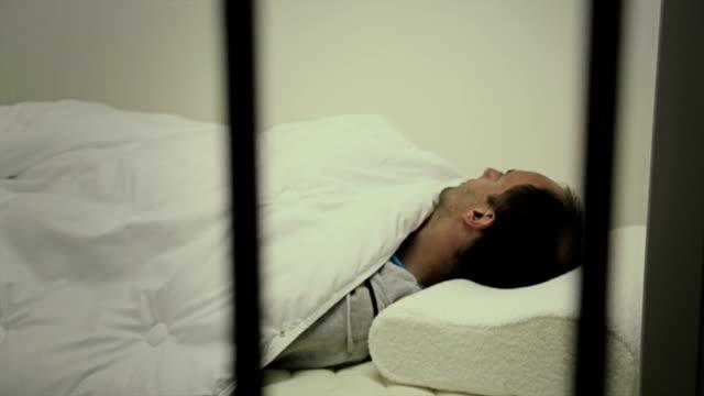 Prisoner sick behind the bars video
