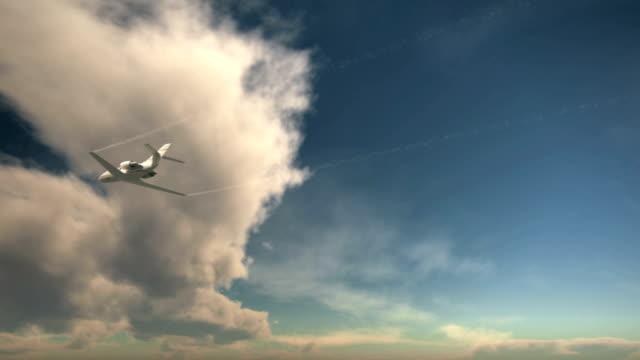 3D Private Jet video