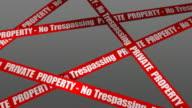 (Loop + Alpha) Private Property - No Trespassing video