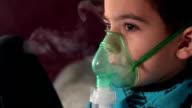 Procedure Inhalation of child video
