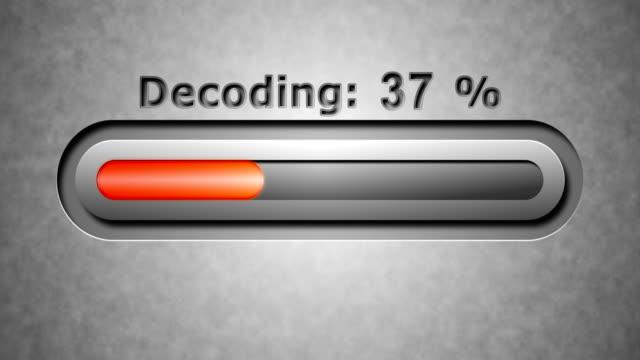 Process of Decoding video
