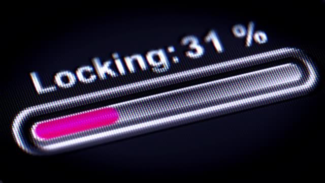 Process of Locking video