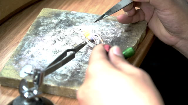 Process of Soldering Ring video