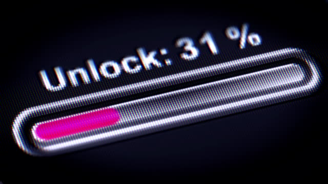 Process of Unlocking video