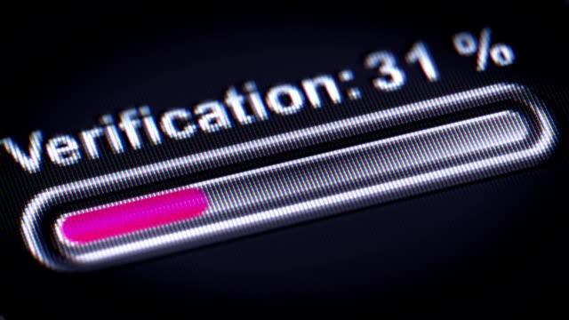 Process of Verification video