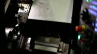 Processing mills for CNC round bright shiny parts with formation of chips video
