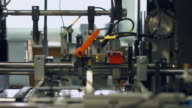 Processing of material. video