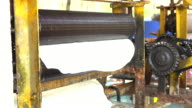 Producing rubber sheet video