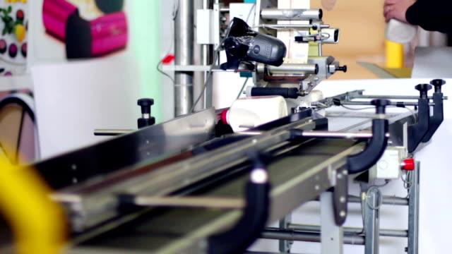 production line of bottle of detersive video
