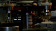 CD/DVD Production Machine - Printing line video