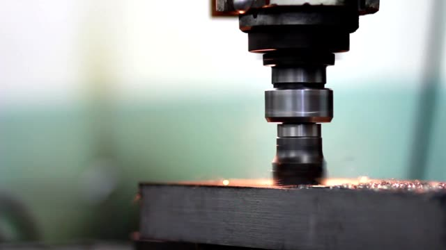 production of lathe in a factory video