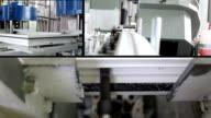 production of plastic windows - multiscreen video