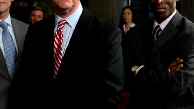 Professional Business Team - CU video
