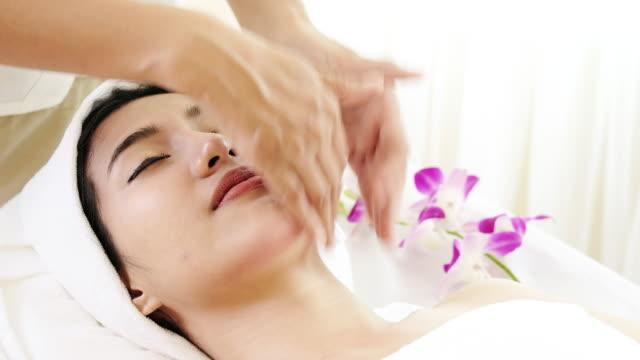 Professional Facial Massage. video