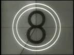 Professional Film Countdown Leader (1950s /1960s era) video