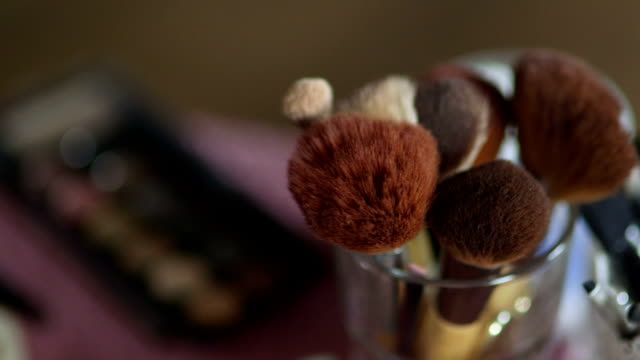 Professional Makeup Brushes For Wedding Ceremony video