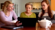 Professional Meeting with Senior Woman video
