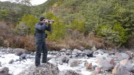Professional nature, wildlife and travel photographer video