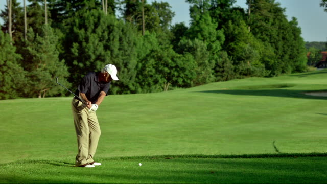 WS Professional Senior Golfer Teeing Off video