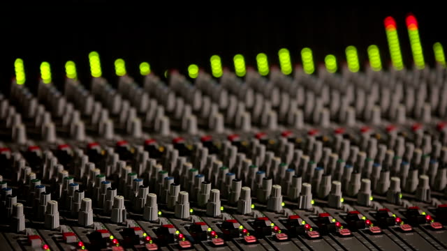 Professional Studio Equipment with Sound Controller and Equalizer video