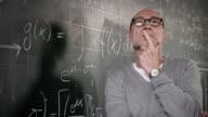 Professor thinking video
