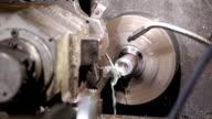 programmable lathe work video