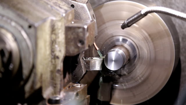 programmable lathe work video