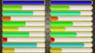Progress Bars, Seamless Loop video