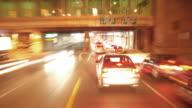 T/L HD progressive  - Time Lapse: City Driving at Night video
