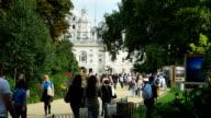 Promenaders In London St James's Park (4K/UHD to HD) video