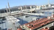 Prophet's Mosque in Medina time lapse video