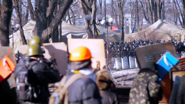 Protests in Kiev - February 2014 video