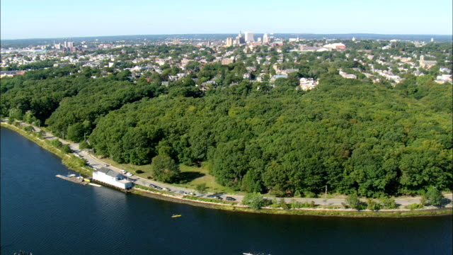 Providence  - Aerial View - Rhode Island, Providence County, United States video