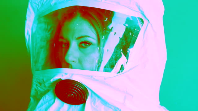 Psychedelic safety suit. video