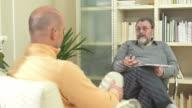 HD: Psychiatrist Talking To A Man video
