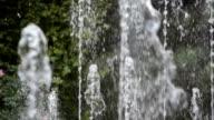 Public fountain in Tblisti, Georgia video