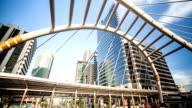 Public Skywalk, Time lapse video