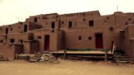 Pueblo Native American Building video