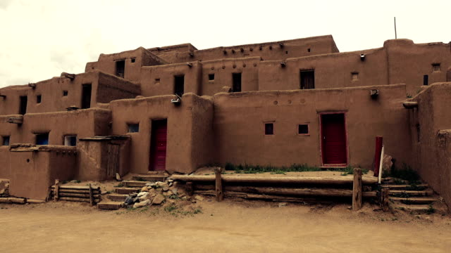 Pueblo Native American Building video