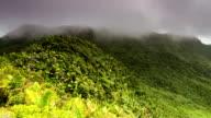 Puerto Rico El Yunque timelapse video