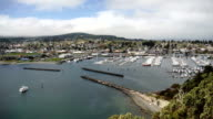 Puget Sound Fidalgo Bay Anacortes Washington Cap Sante Park Marina video