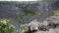 Puhimau crater Steam vents HD video