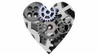 Pulsating mechanical heart video