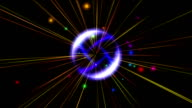 pulse star abstract video