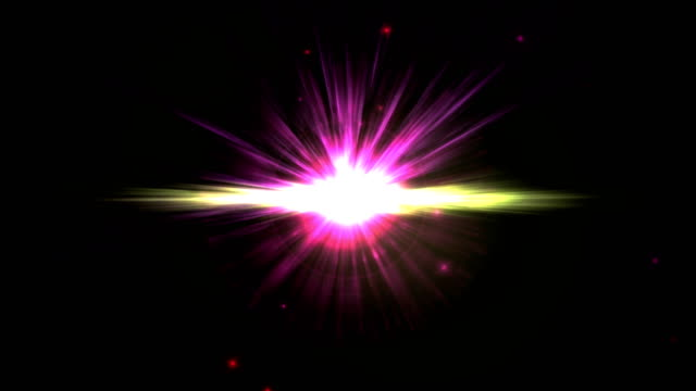 pulse star ray space 4k video