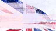 Punk Grunge UK Union Jack British Flag HD PAL video