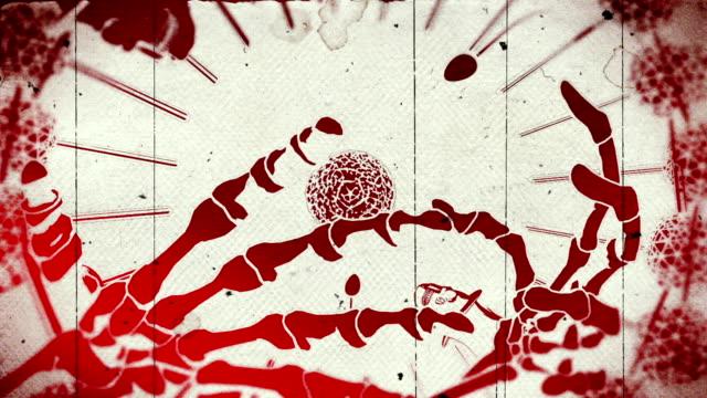 punk rock animation video